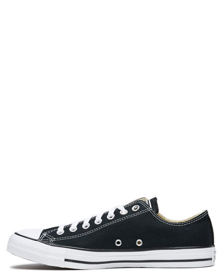 BLACK MENS FOOTWEAR CONVERSE SNEAKERS - SS19166BLKM