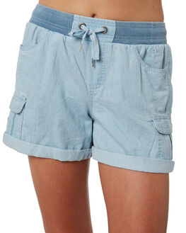 LIGHT BLUE KIDS GIRLS RIP CURL SHORTS + SKIRTS - JWAAV11080