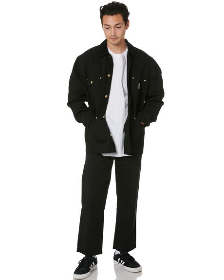BLACK BLACK MENS CLOTHING CARHARTT JACKETS - I02797889