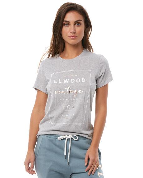 GREY MARLE WOMENS CLOTHING ELWOOD TEES - W82101309