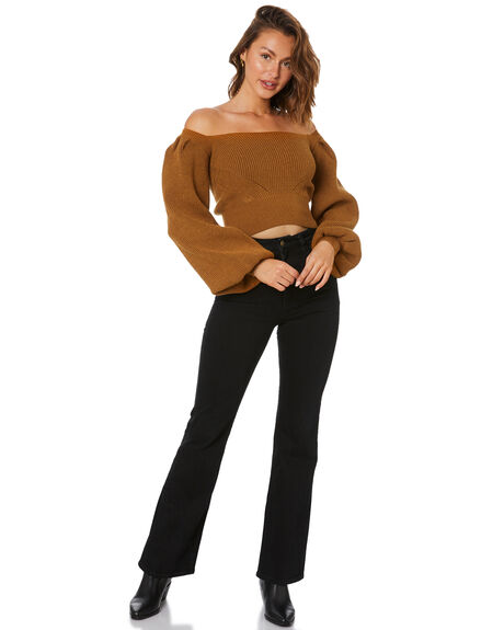 GOLD WOMENS CLOTHING MINKPINK KNITS + CARDIGANS - MG2103818GLD