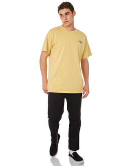 HERITAGE YELLOW MENS CLOTHING THRILLS TEES - TS8-118KHRYEL