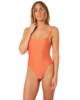 ORANGE WOMENS SWIMWEAR MINKPINK ONE PIECES - MS1806060ORNG