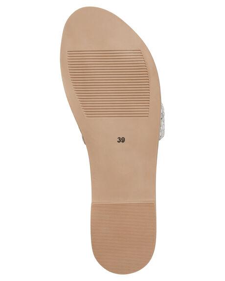 WHITE SILVER WOMENS FOOTWEAR URGE FASHION SANDALS - URG17202WSILV