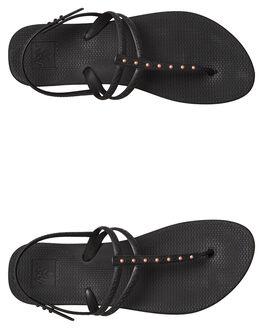 ANTIQUE BLACK WOMENS FOOTWEAR REEF THONGS - A3OLHABQ