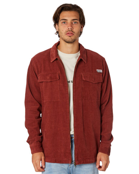 RED EARTH MENS CLOTHING THE CRITICAL SLIDE SOCIETY JACKETS - LS1815REDEA