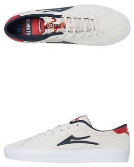 WHITE MENS FOOTWEAR LAKAI SNEAKERS - MS3190112A00WHT