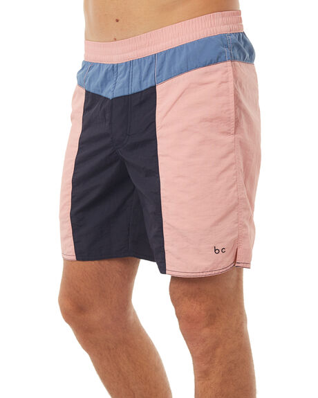 PINK MENS CLOTHING BARNEY COOLS BOARDSHORTS - 661-MC1IPNK