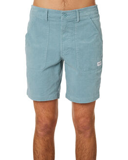 DUSTY BLUE MENS CLOTHING BANKS SHORTS - WS0111DTB
