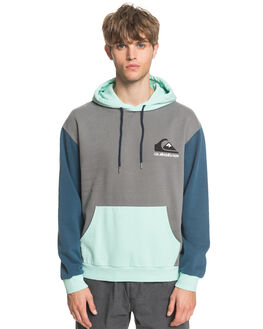 MAJOLICA BLUE MENS CLOTHING QUIKSILVER JUMPERS - EQYFT04103-BSM0