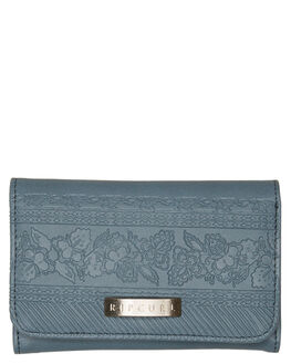 SLATE BLUE WOMENS ACCESSORIES RIP CURL PURSES + WALLETS - LWUIG11115