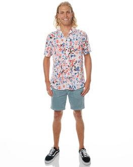 ROSE MENS CLOTHING BANKS SHIRTS - WSS0049ROS