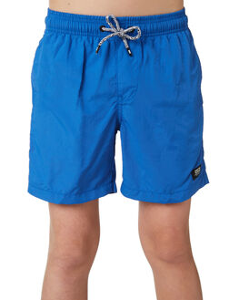 COBALT BLUE KIDS BOYS GLOBE SHORTS - GB41518002COBBL