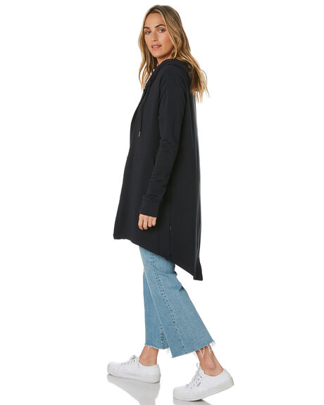 BLACK WOMENS CLOTHING SILENT THEORY JUMPERS - 6092038BLK
