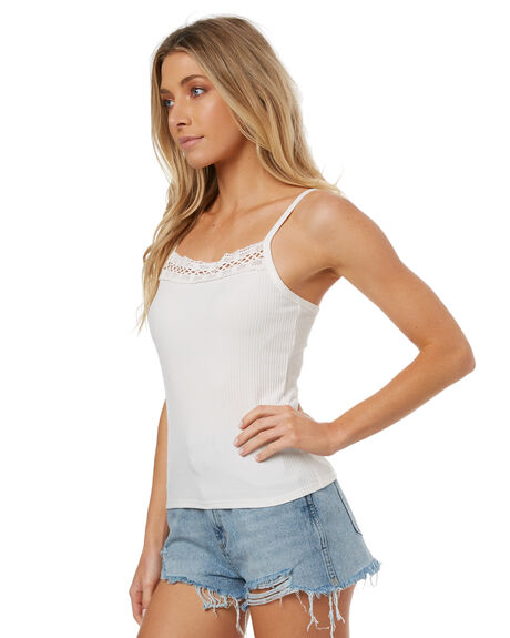 WHITE WOMENS CLOTHING THE HIDDEN WAY FASHION TOPS - H8171174WHITE