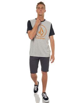 GREY MENS CLOTHING VOLCOM TEES - A5031773GRYM