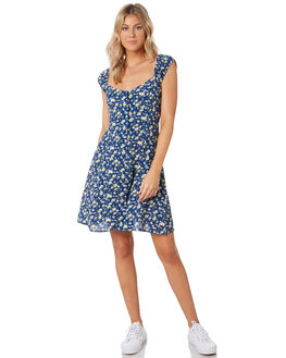 FRENCH BLUE WOMENS CLOTHING ROLLAS DRESSES - 132421676