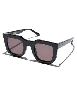 GLOSS BLACK MENS ACCESSORIES VALLEY SUNGLASSES - S0387GBLK