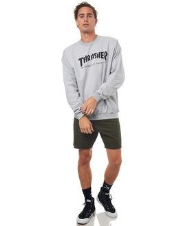 GREY MENS CLOTHING THRASHER JUMPERS - 20265023GREY