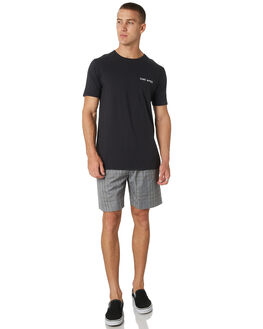 GREY MENS CLOTHING ZANEROBE SHORTS - 608-WORDGRY