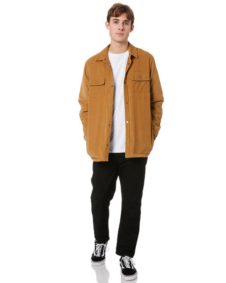 TOBACCO CORD MENS CLOTHING MR SIMPLE JACKETS - M-09-35-06TOBCD
