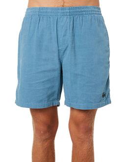 POWDER BLUE MENS CLOTHING STUSSY SHORTS - ST082601POWBL