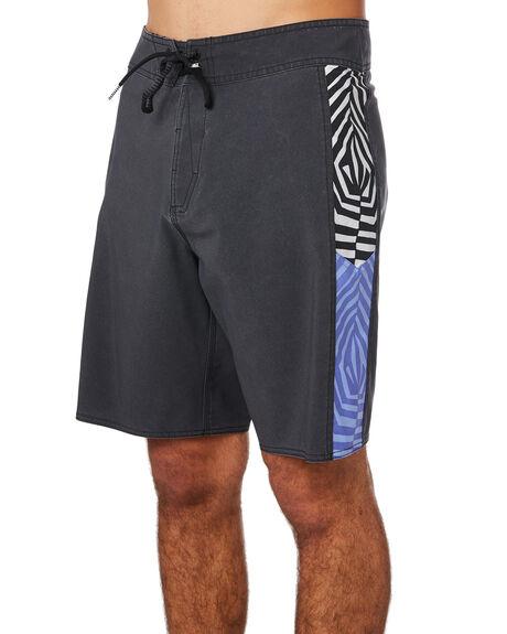 BLACK MENS CLOTHING VOLCOM BOARDSHORTS - A0811914BLK