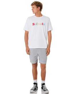 WHITE MENS CLOTHING BARNEY COOLS TEES - 108-CR3WHT
