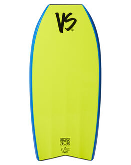 ROYAL BLUE YELLOW BOARDSPORTS SURF VS BODYBOARDS BODYBOARDS - VSTOOGIE48RBRBLUY