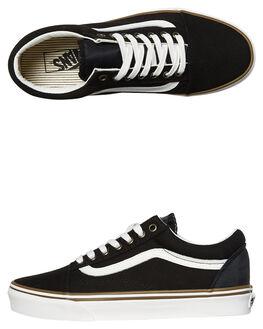 BLACK WHITE BRONZE WOMENS FOOTWEAR VANS SNEAKERS - SSVNA38G1R1NBLKWW