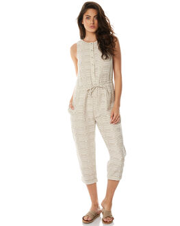 NEUTRAL WOMENS CLOTHING ZULU AND ZEPHYR PLAYSUITS + OVERALLS - ZZ1596NEUT