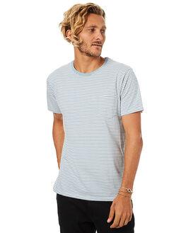 GLACIER BLUE MENS CLOTHING BANKS TEES - WTS0159GBL