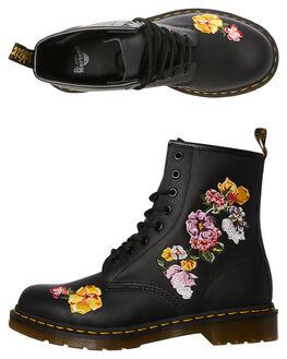BLACK WOMENS FOOTWEAR DR. MARTENS BOOTS - SS24067001BLKW