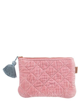DUSTY PINK WOMENS ACCESSORIES KIP AND CO PURSES + WALLETS - AW201045DPNK
