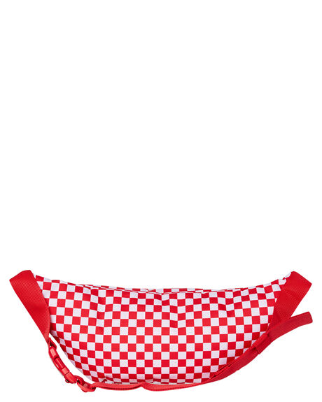 RED CHECK MENS ACCESSORIES VANS BAGS + BACKPACKS - VN0A2ZXXRND