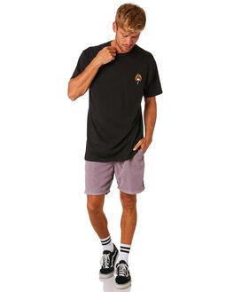 BLACK MENS CLOTHING BILLABONG TEES - 9595026BLK