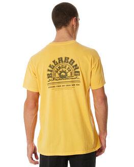 LIGHT MUSTARD MENS CLOTHING BILLABONG TEES - 9581027LMSTD