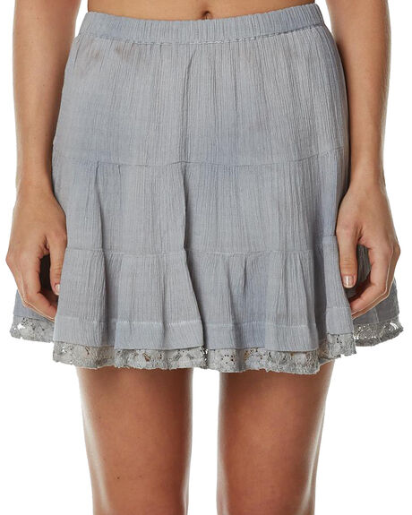 GREY WOMENS CLOTHING TIGERLILY SKIRTS - T362276GREY