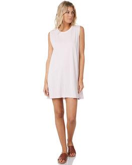 LIGHT PURPLE WOMENS CLOTHING RIP CURL DRESSES - GDRHT10773