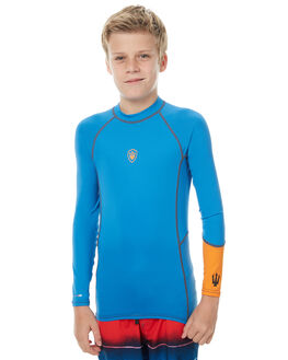 BLUE ORANGE SURF RASHVESTS FAR KING BOYS - 2063BLUOR