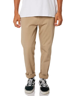 DARK KHAKI MENS CLOTHING RIP CURL PANTS - CPAAH99660