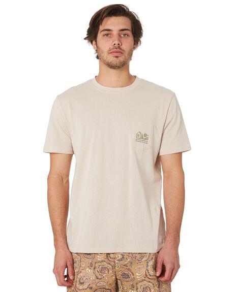 WHITE MENS CLOTHING RHYTHM TEES - OCT19M-PT05-WHT
