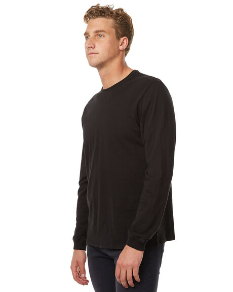 BLACK MENS CLOTHING SWELL TEES - S5174110BLK