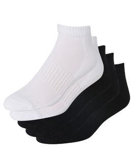 BLACK WHITE KIDS BOYS SWELL SOCKS + UNDERWEAR - S31821691BLKWH