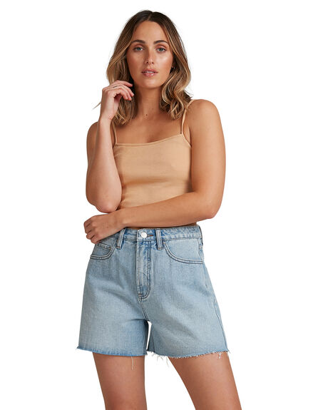 BISCUIT WOMENS CLOTHING BILLABONG SINGLETS - BB-6503177-BF5
