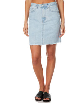 SEA BLUE WOMENS CLOTHING ASSEMBLY SKIRTS - AW-S1737SEA