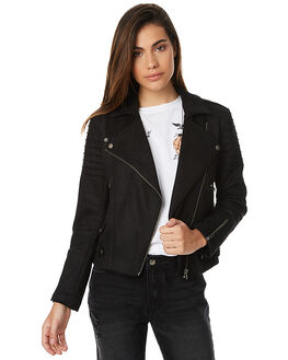 BLK WOMENS CLOTHING MINKPINK JACKETS - MP1610485BLK