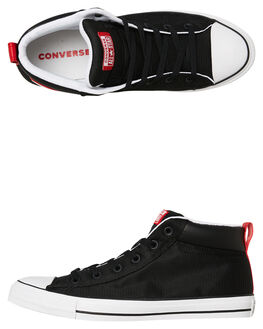 BLACK MENS FOOTWEAR CONVERSE SNEAKERS - 163404BL