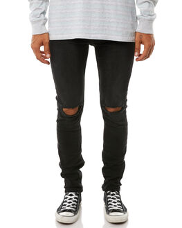 BLACK MENS CLOTHING INSIGHT JEANS - 5000000916BLK