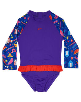 BEACH PARTY BOARDSPORTS SURF SPEEDO GIRLS - 7732D-7863BCHPT